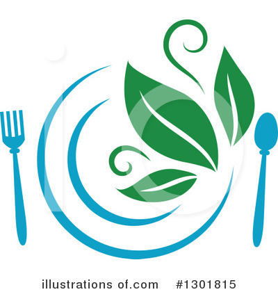 Plate Clipart #1301815 by Vector Tradition SM