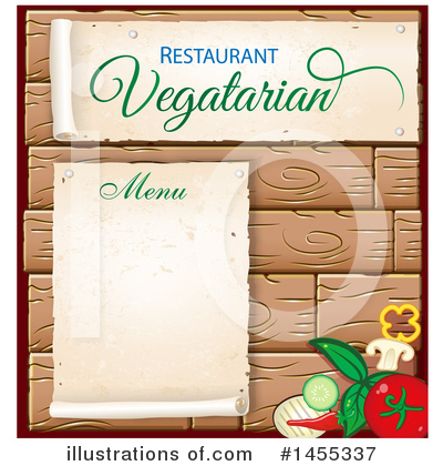 Menu Clipart #1455337 by Domenico Condello
