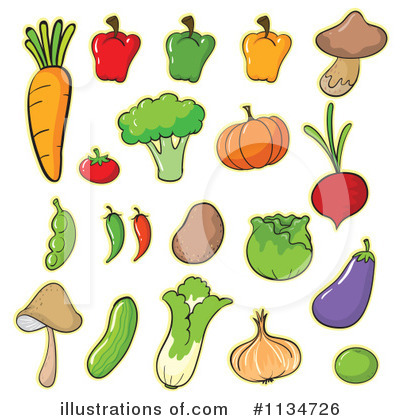 Eggplant Clipart #1134726 by Graphics RF