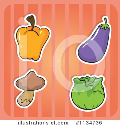 Eggplant Clipart #1134736 by Graphics RF