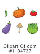 Royalty-Free (RF) Veggie Clipart Illustration #1134737