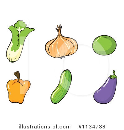 Eggplant Clipart #1134738 by Graphics RF