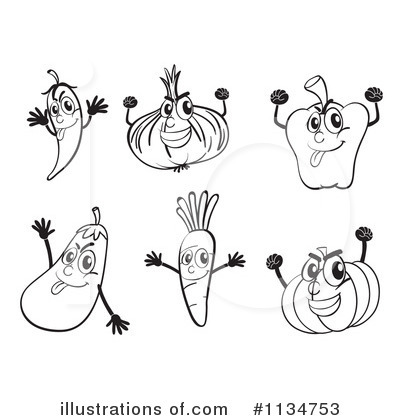 Eggplant Clipart #1134753 by Graphics RF