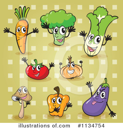Eggplant Clipart #1134754 by Graphics RF