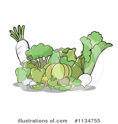 Cabbage Clipart #1134755 by Graphics RF