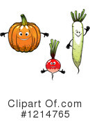 Veggie Clipart #1214765 by Vector Tradition SM