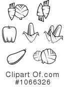 Veggies Clipart #1066326 by Vector Tradition SM
