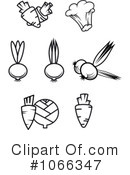 Veggies Clipart #1066347 by Vector Tradition SM