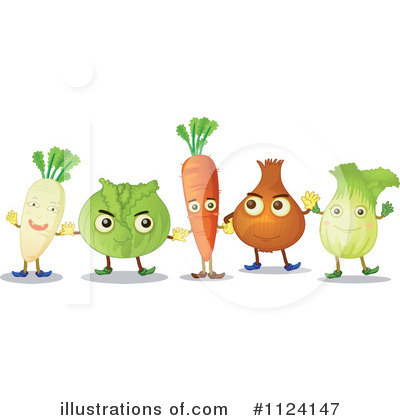 Veggie Clipart #1124147 by Graphics RF
