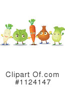 Veggies Clipart #1124147 by Graphics RF