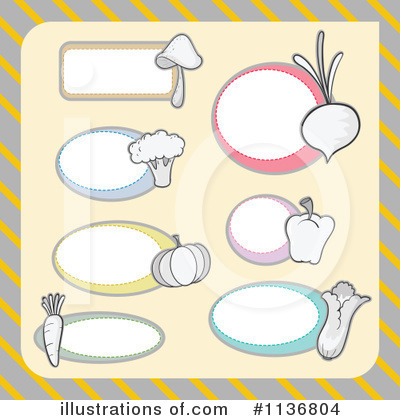 Veggie Clipart #1136804 by Graphics RF