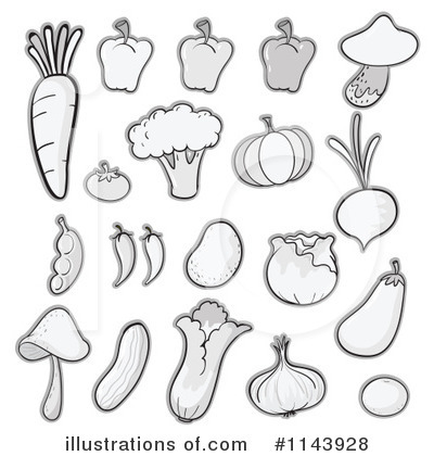 Cabbage Clipart #1143928 by Graphics RF