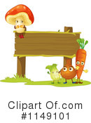Veggies Clipart #1149101 by Graphics RF