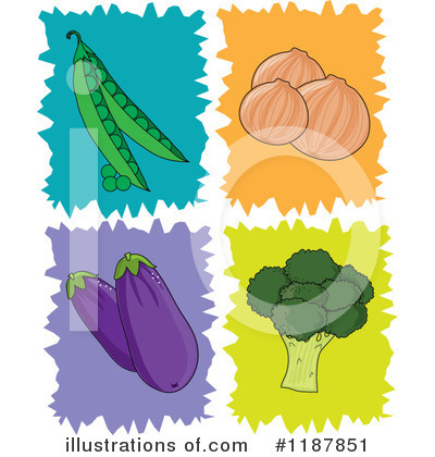 Vegetable Clipart #1187851 by Maria Bell