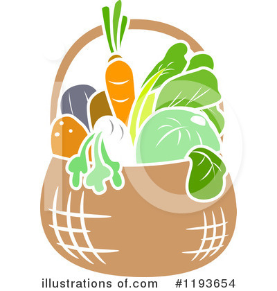 Radish Clipart #1193654 by BNP Design Studio