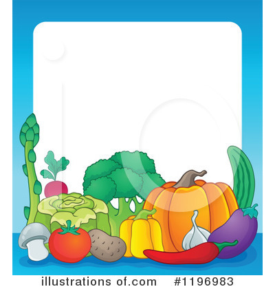 Produce Clipart #1196983 by visekart