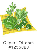 Royalty-Free (RF) Veggies Clipart Illustration #1255828