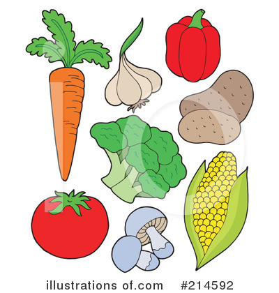 Veggies Clip Art Free