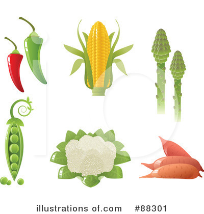 Veggies Clipart #88301 by Tonis Pan
