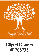 Vesak Day Clipart #1708238 by Vector Tradition SM