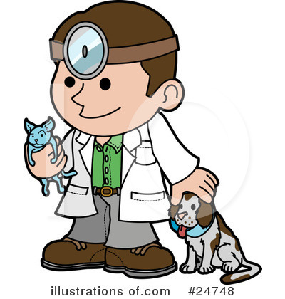 Veterinarian Clipart #24748 by AtStockIllustration