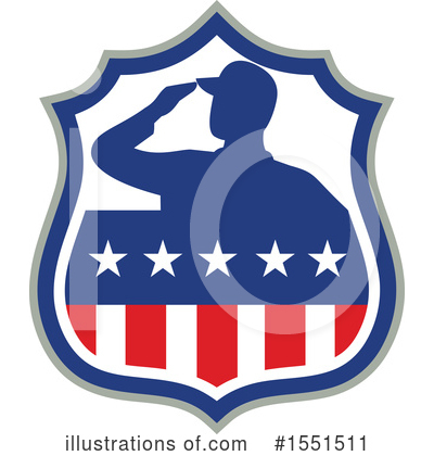 Royalty-Free (RF) Veteran Clipart Illustration by patrimonio - Stock Sample #1551511
