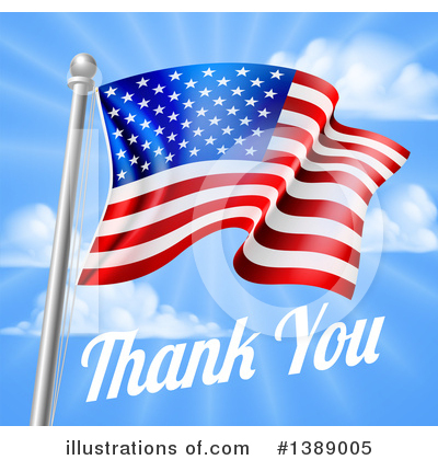 Memorial Day Clipart #1389005 by AtStockIllustration