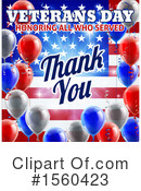 Veterans Day Clipart #1560423 by AtStockIllustration