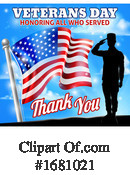 Veterans Day Clipart #1681021 by AtStockIllustration