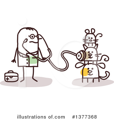 Veterinarian Clipart #1377368 by NL shop