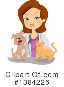 Royalty-Free (RF) Veterinarian Clipart Illustration #1384226