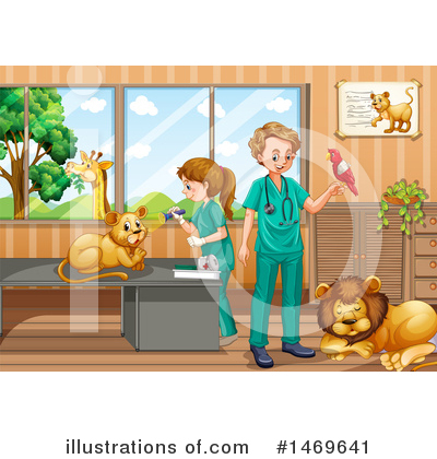 Royalty-Free (RF) Veterinarian Clipart Illustration by Graphics RF - Stock Sample #1469641