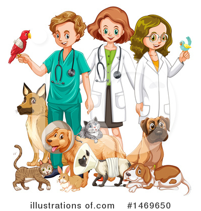 Veterinarian Clipart #1469650 by Graphics RF