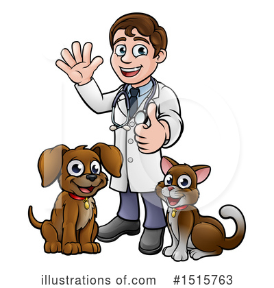 Veterinarian Clipart #1515763 by AtStockIllustration