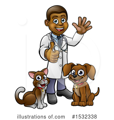 Royalty-Free (RF) Veterinarian Clipart Illustration by AtStockIllustration - Stock Sample #1532338