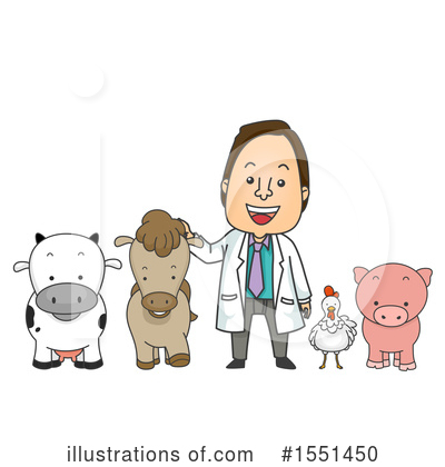 Royalty-Free (RF) Veterinarian Clipart Illustration by BNP Design Studio - Stock Sample #1551450