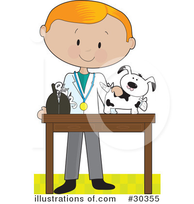 veterinarian clipart 30355 illustration by maria bell rh illustrationsof com veterinarian clipart black and white veterinarian clipart free