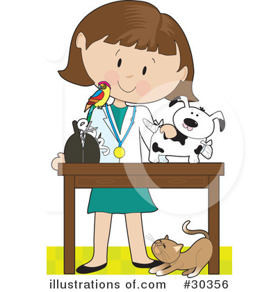 veterinarian clipart 30356 illustration by maria bell rh illustrationsof com vent clip art vet clip art black and white