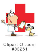 Veterinarian Clipart #83261 by Hit Toon