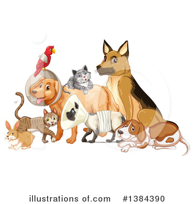 German Shepherd Clipart #1384390 by Graphics RF