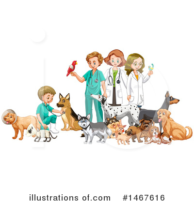 Veterinarian Clipart #1467616 by Graphics RF