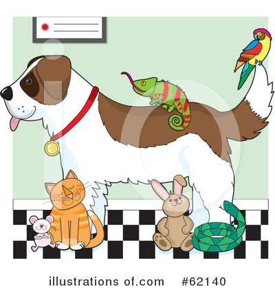 Royalty-Free (RF) Veterinary Clipart Illustration by Maria Bell - Stock Sample #62140