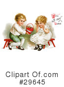 Royalty-Free (RF) Victorian Clipart Illustration #29645
