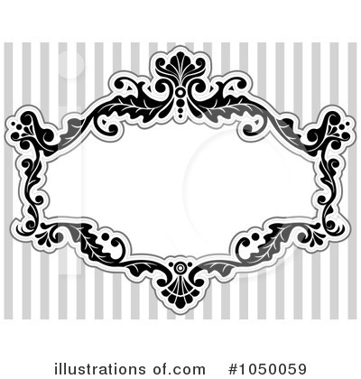 Royalty-Free (RF) Victorian Frame Clipart Illustration by BNP Design Studio - Stock Sample #1050059