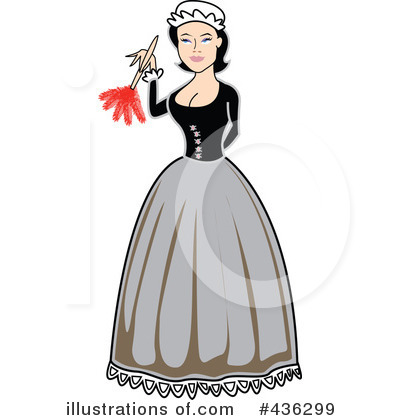 Maid Clipart #436299 by Andy Nortnik
