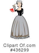 Victorian Woman Clipart #436299 by Andy Nortnik