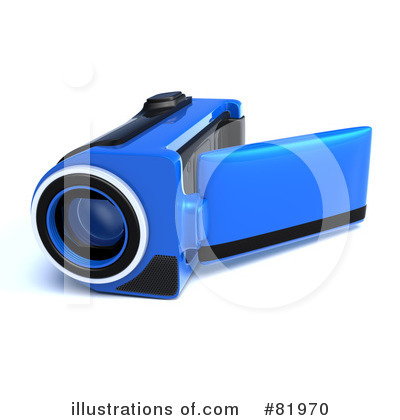Royalty-Free (RF) Video Camera Clipart Illustration by Tonis Pan - Stock Sample #81970