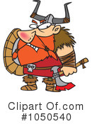 Royalty-Free (RF) viking Clipart Illustration #1050540