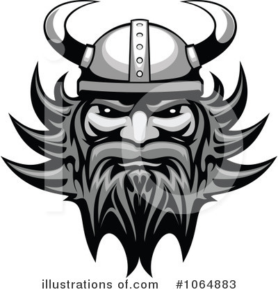 Viking Clipart #1064883 by Vector Tradition SM