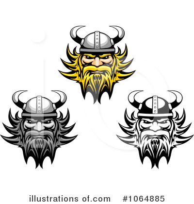 Viking Clipart #1064885 by Vector Tradition SM